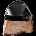 Knights helmet jute