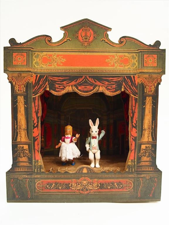 Musical Box Theater Alice in Wonderland - Toy Store